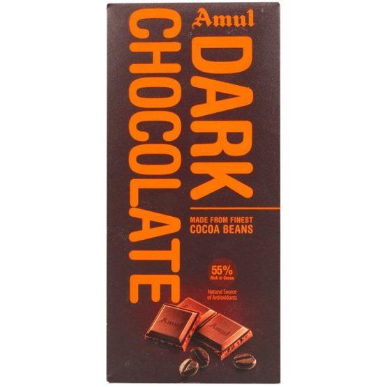 Amul Dark 55% Chocolate Bar 150G
