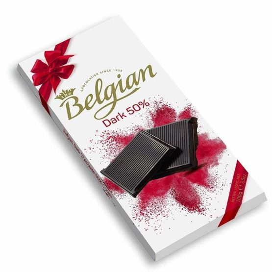 Belgian 50% Dark Chocolate Bar 100G