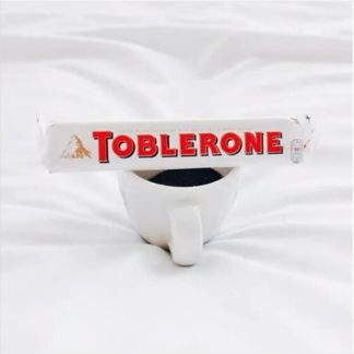 Toblerone Swiss White 100G