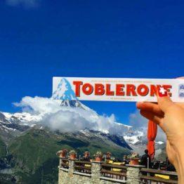 Toblerone Swiss White 100G