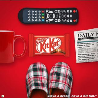 KitKat 4 Fingers 45G