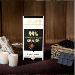 Lindt Excellence 99% Cocoa Dark Bar 50 G
