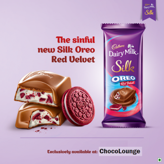Cadbury Dairy Milk Silk Oreo Red Velvet