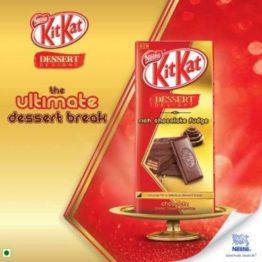 KitKat Dessert Delight Chocolate Fudge 150G