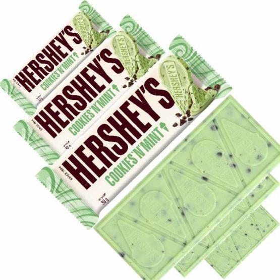 Hersheys Cookies N Mint Bar 39G