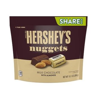 Hersheys Nuggets Milk With Almonds 286G