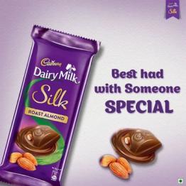 Cadbury Dairy Milk Silk Roasted Almond 143G