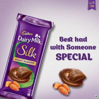 Cadbury Dairy Milk Silk Roasted Almond 143G