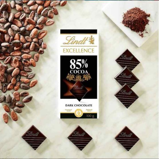 Lindt Excellence 85% Cocoa Dark Bar 100 G