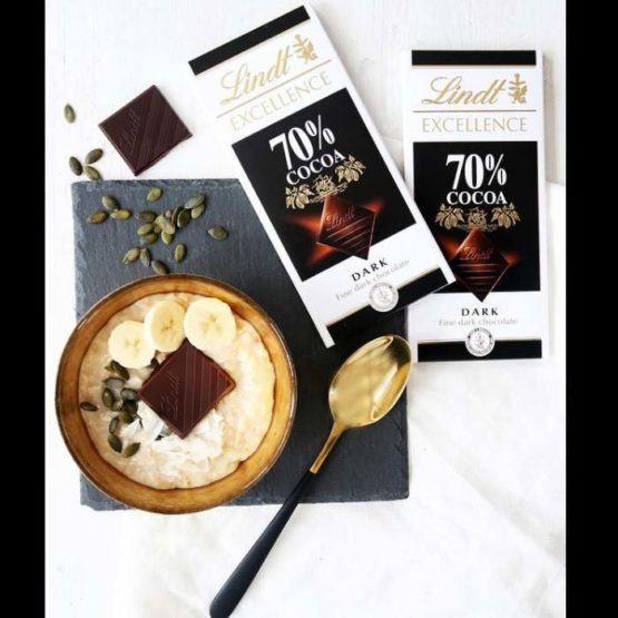 Lindt Excellence 70% Cocoa Dark Bar 100 G