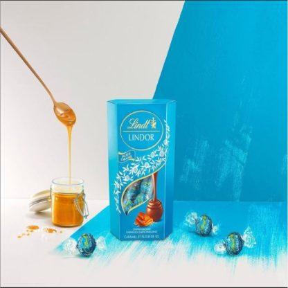 Lindt Lindor Salted Caramel 200G