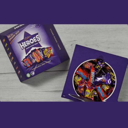 Cadbury Heroes Carton 385g