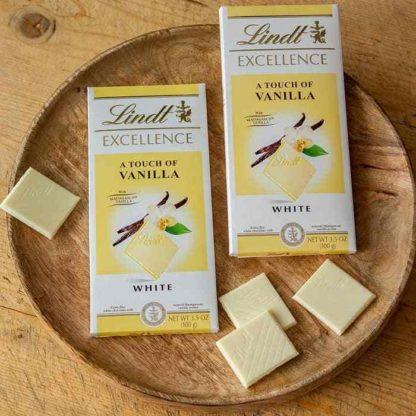 Lindt Eaxcellence Vanilla Bar 100 G