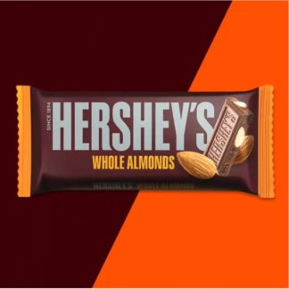 Hersheys Whole Almonds Bar 100G
