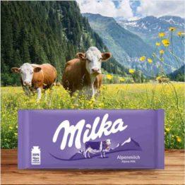 Milka Alpine Milk Bar 100G