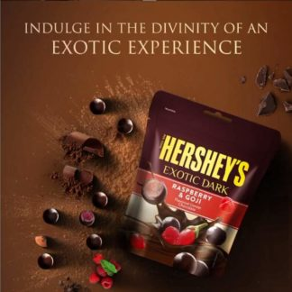 Hersheys Exotic Dark Raspberry & Goji 100G
