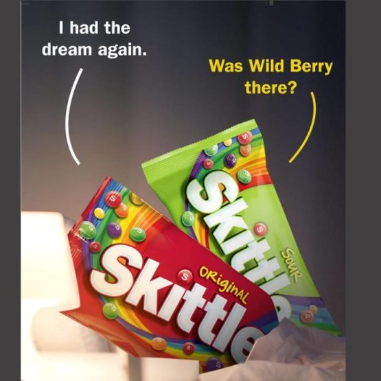 Skittles Combo of 4*45G (Fruits, Sours, Tropical & Wild Berry)