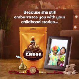Hersheys Kisses Almond 100G