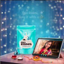 Hersheys Kisses Cookies n creme 100G