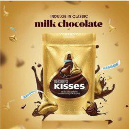 Hersheys Kisses Milk 108G