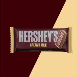 Hersheys Bar Creamy Milk 100G