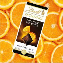 Lindt Excellence Intense Orange 100 G