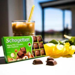 Schogetten Milk Chocolate with Hazelnut 100G