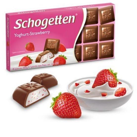 Schogetten Yogurt Strawberry 100G
