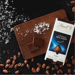 Lindt Excellence Sea Salt 100 G