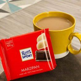 Ritter Sport Marzipan Chocolate Bar 100G