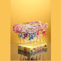 Zubi Swirl Lollypop Pack of 4