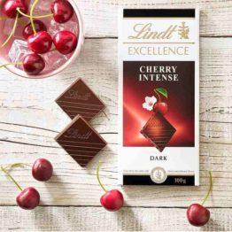 Lindt Excellence Cherry Intense Dark Chocolate 100G