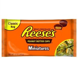 Reeses Miniature Cup Milk Chocolate 340G