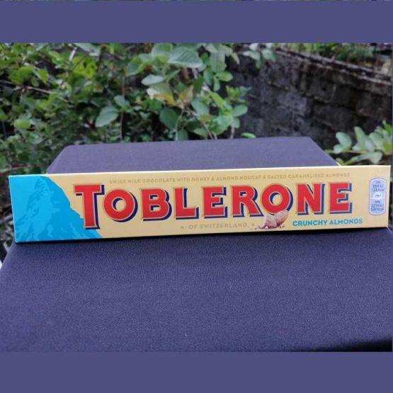 Toblerone Swiss Crunchy Almonds Milk Chocolate 100G