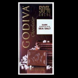 Godiva Chocolatier 50% Cacao Dark Chocolate Sea Salt 100G