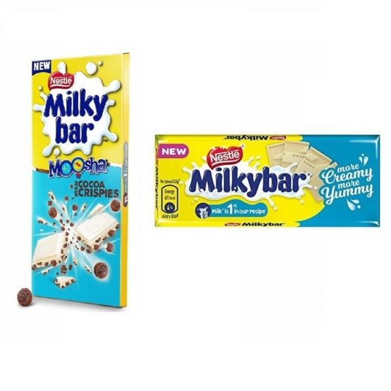 Milkybar white Chocolate and Cocoa Crispies