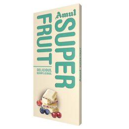 Amul Super Fruit White Chocolate 150G