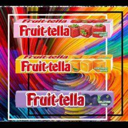 Fruittella 3 Combo of Orange, Grape and Strawberry
